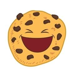 Cookie cartoon icon Bakery design graphic vector image vector image