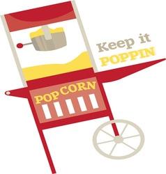 Keep it poppin vector