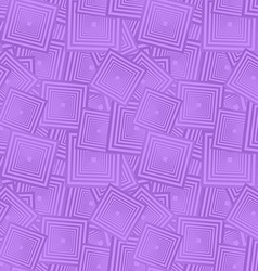 Lavender seamless square pattern background vector