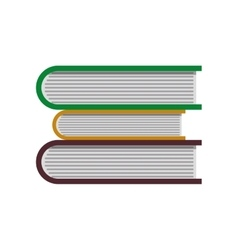 Book reading paper study icon graphic vector