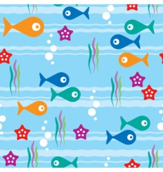 sea seamless background vector image