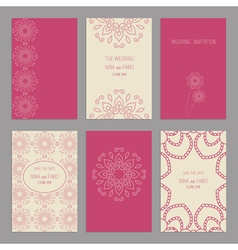 Templates cards 2 vector