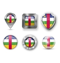 Country Flag Bages vector image vector image
