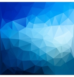 Magic poligonal abstract background vector
