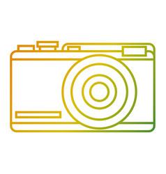 photo camera device flash icon vector image vector image