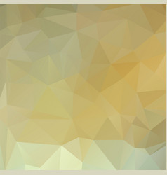 polygon background white gold vector image vector image