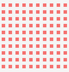 Red square dot pattern background vector