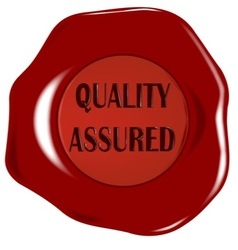 Quality assured seal vector