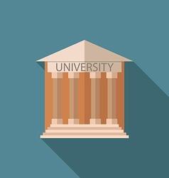 University icon v vector