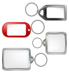 Key ring set vector