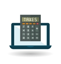 Taxes  editable icon vector