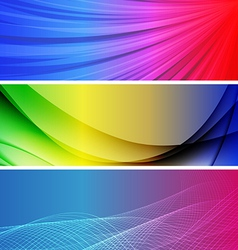 Abstract background banner31 vector image vector image