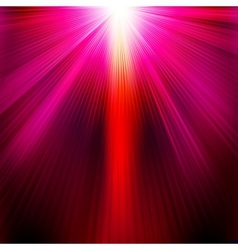 Abstract with neon purpel light rays EPS 10 vector image