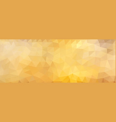 polygon background honey wide screen vector image vector image