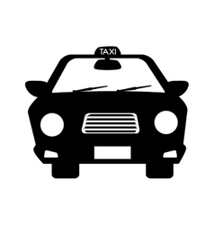 Taxi cab car vector
