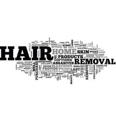 At home hair removal techniques to use part two vector