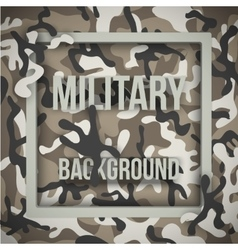 Military modern camo background vector