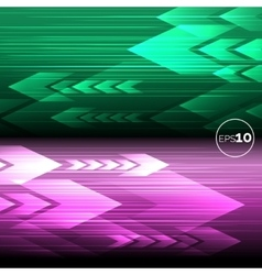 Abstract tech motion lines backgrounds vector