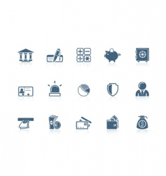 Banking icons vector