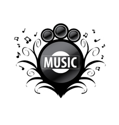 Logo music vector