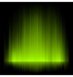 aurora borealis background vector image vector image