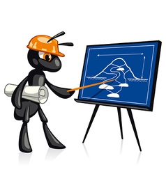 Building Presentation vector image vector image