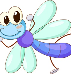 Cute Dragonfly vector image