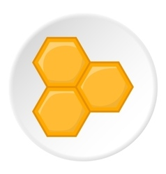 Honeycomb icon cartoon style vector image