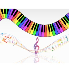 Musical vector image vector image