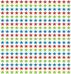 Colorfull star background vector