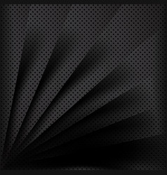 black metal background overlap multi paper vector image