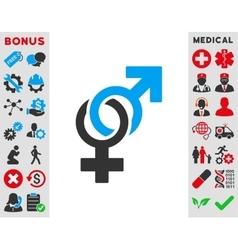 Sexual Symbols Icon vector image