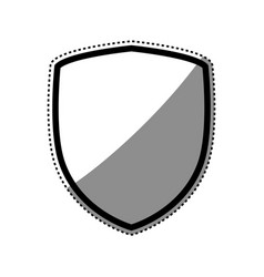 shield security symbol vector image