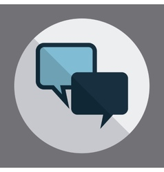 speech design vector image