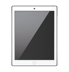 New realistic tablet modern style isolated on vector