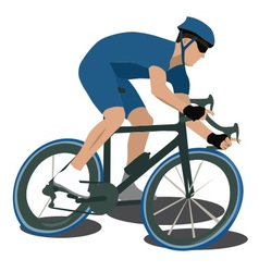 Sport cycling vector image