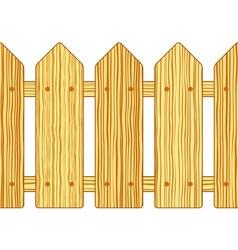 Batten fence vector image