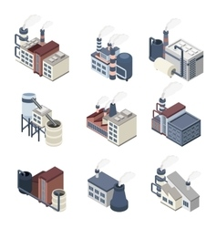 Building industry isometric vector