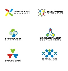 Company name design vector