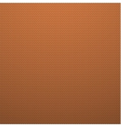 Knitted Style Orange Seamless Pattern vector image