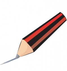 pencil drawing vector image vector image