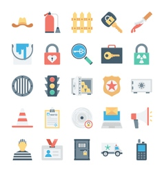 Crime and security icons 7 vector
