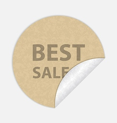 Best sale paper sticker vector