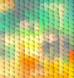 Plastic abstract polygonal background vector