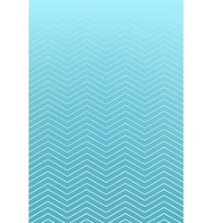 abstract striped wavy lines pattern on blue vector image vector image