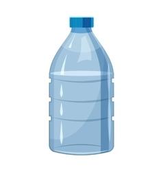 Big bottle of water icon cartoon style vector image vector image