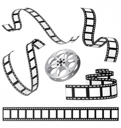 film and roll vector image vector image