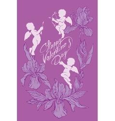 angel card 8 380 vector image