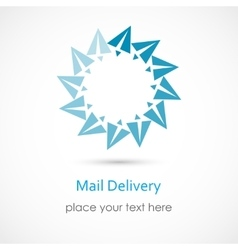 Mail delivery vector