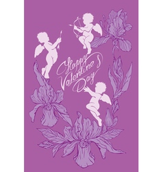 angel card 8 380 vector image vector image